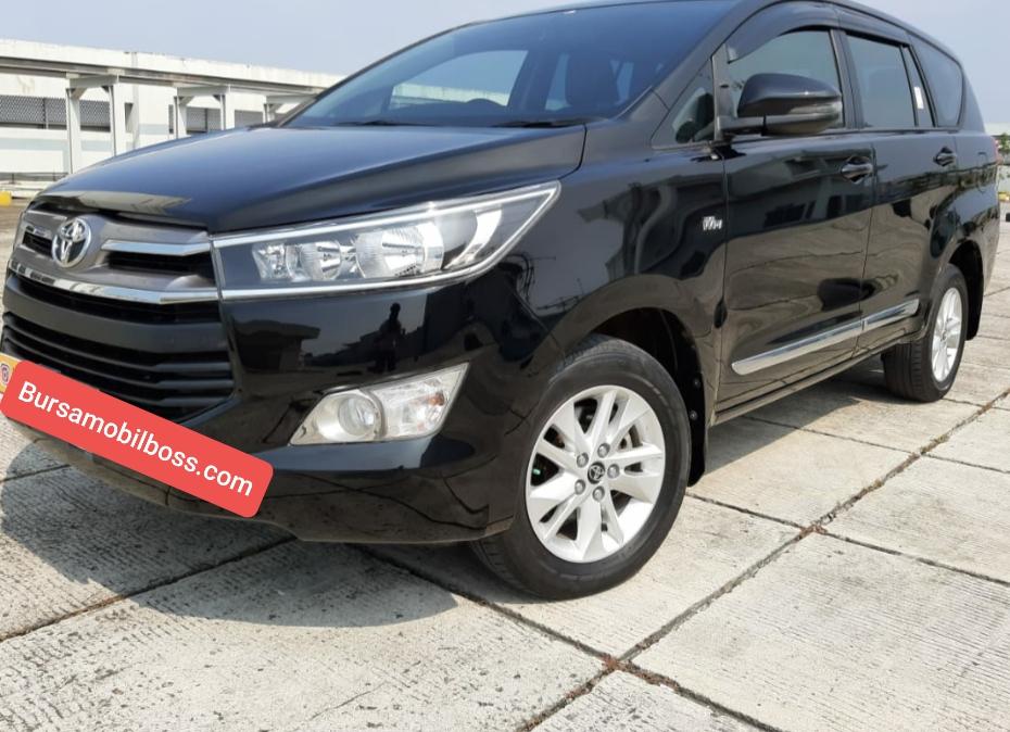 Toyota Kijang innova 2.0 G At 2018 Hitam - Bursamobilboss.com